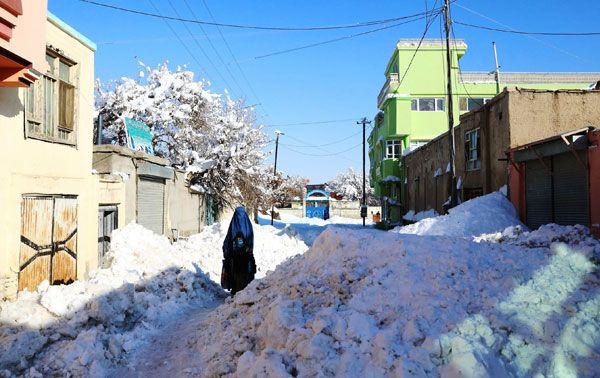 Schnee und Lawinen in Pakistan und Afghanistan