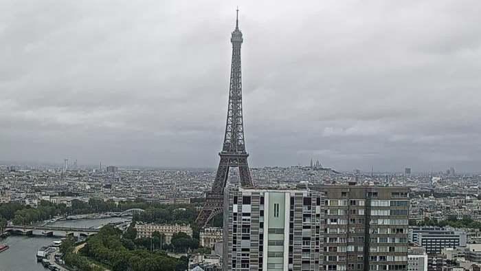 HD Live Webcam Paris - Eiffelturm - Tour Eiffel