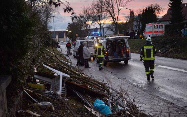 Tornado in Kürnach