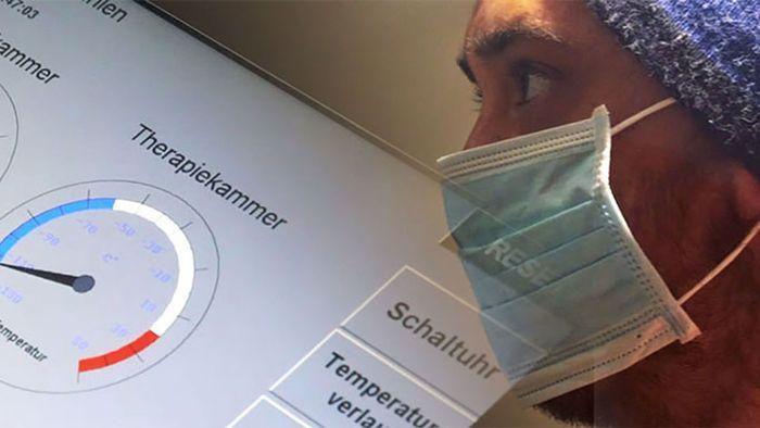 -110 Grad in München - Ein Selbstversuch in der Kältekammer