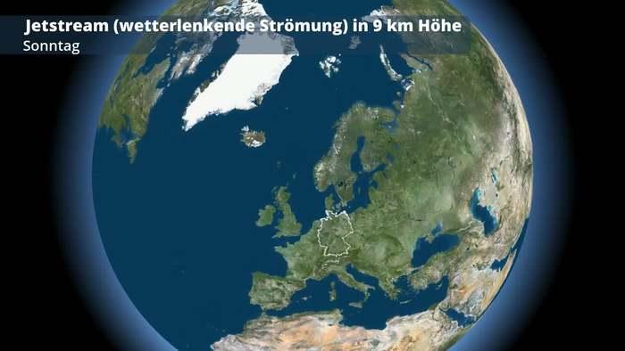 Jetstream - 5-Tages-Vorhersage
