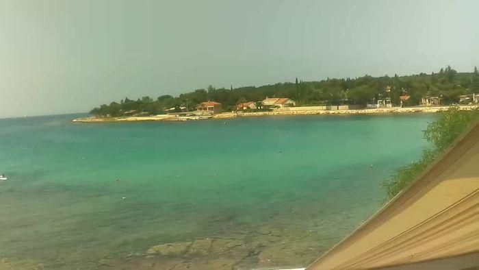 HD Live Webcam Umag - Hotel Zlatna Vala