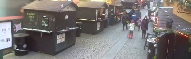 Livecam Fuliranje - Christmas event in Zagreb