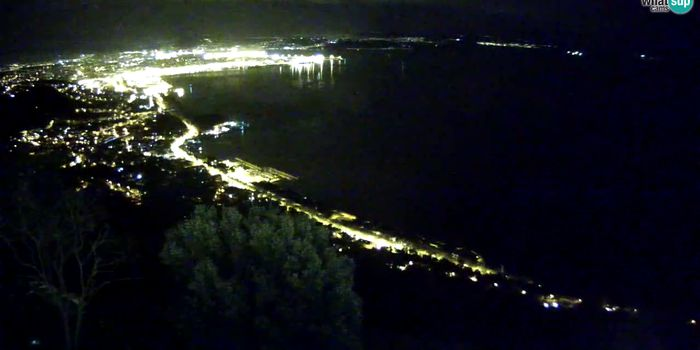 Livecam Webcam Trieste - View from sanctuary Monte Grisa