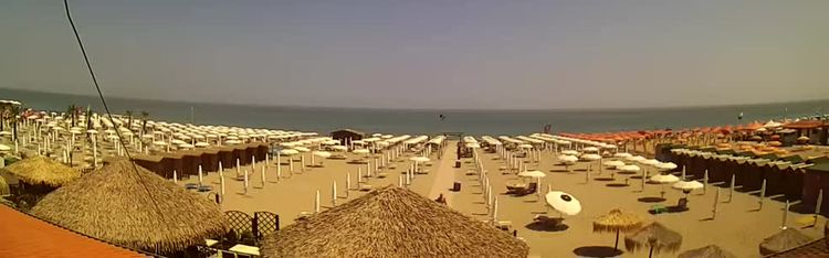 Livecam Webcam Sottomarina - the beach - Bagni Oasi
