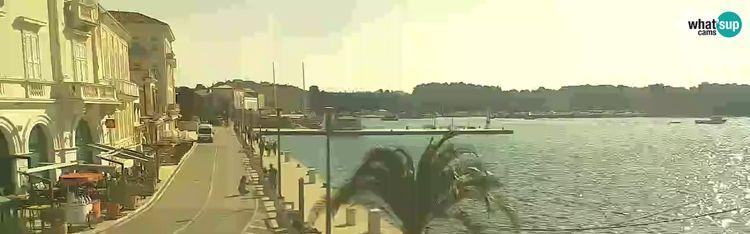 Livecam Webcam Poreč - Grand Hotel Palazzo