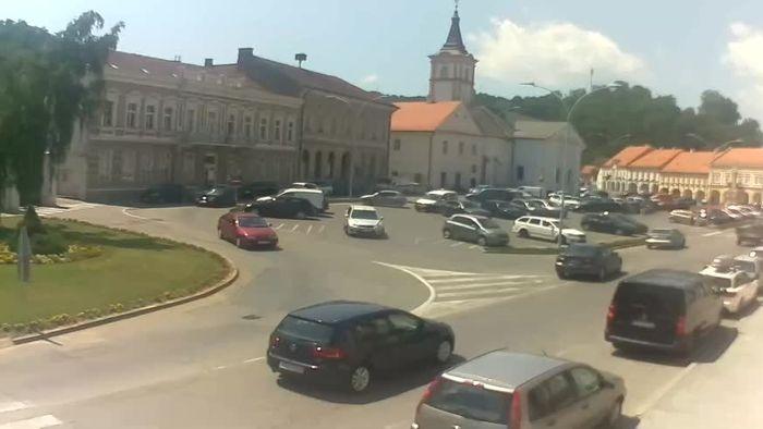 HD Live Webcam Webcam Požega - Svetog Trojstva square