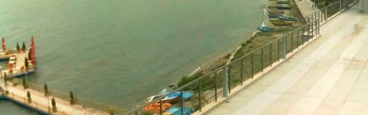 Livecam Pogradec - Ohrid lake