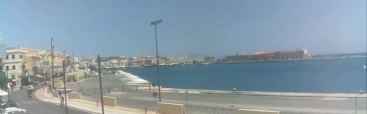Livecam Syros - Port of Hermoupolis