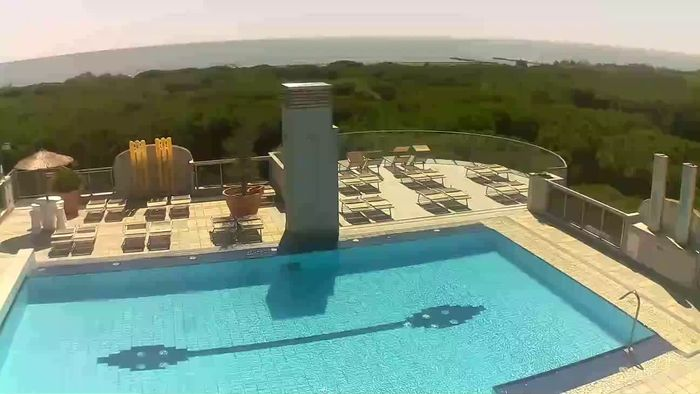 HD Live Webcam Eraclea Mare - view from hotel Eraclea Palace