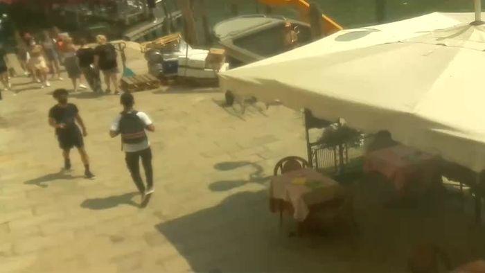 HD Live Webcam Venedig - Rialtobrücke und Canale Grande