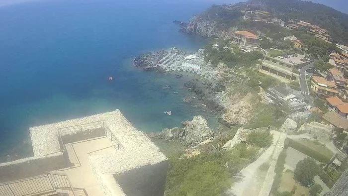 HD Live Webcam Talamone - Hafen