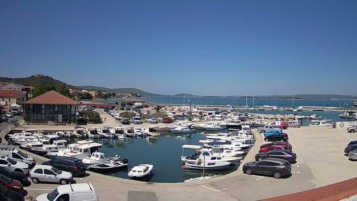 HD Live Webcam Tkon - Insel Pasman - Yachthafen