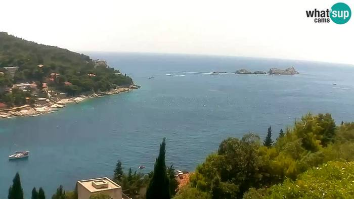 HD Live Webcam Dubrovnik -  Lapad bay