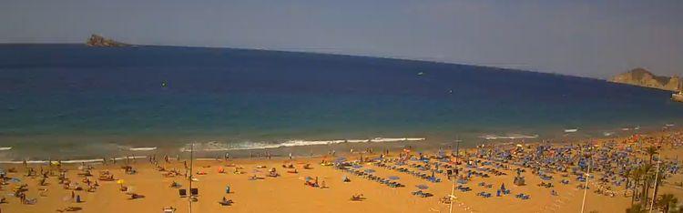 Livecam Webcam Costa Blanca - Benidorm - Levante Beach