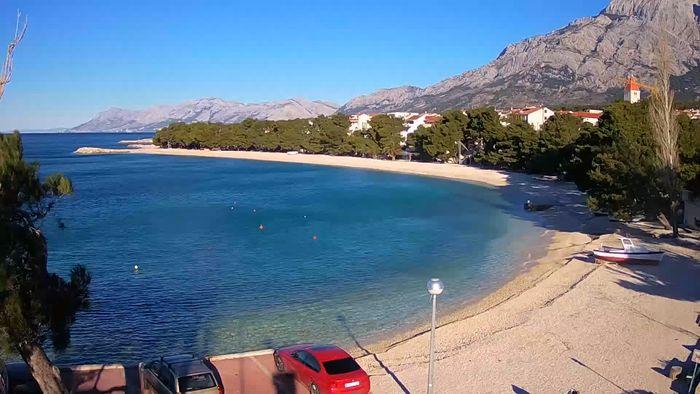 HD Live Webcam Promajna -  beach webcam live