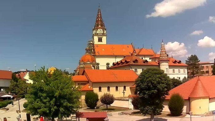 HD Live Webcam Marija Bistrica - Marian Shrine