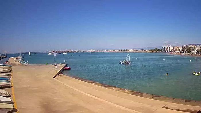 HD Live Webcam Port de Roses - La Perola Strand