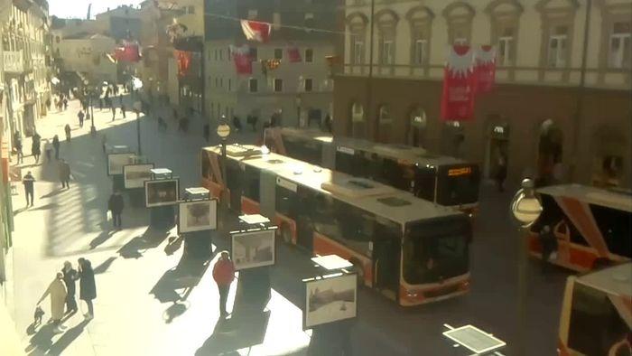 HD Live Webcam Rijeka - Korzo - Kvarner Bucht