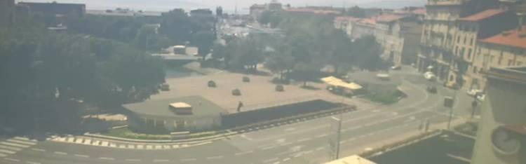 Livecam Rijeka -  Rječina, Fiumara and Tito square