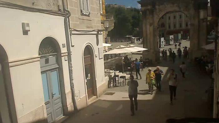 HD Live Webcam Pula - Sergierbogen