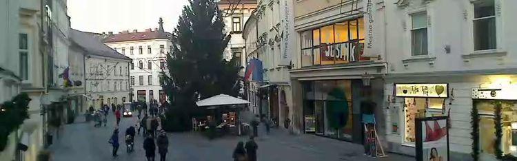 Livecam Ljubljana - Mestni trg