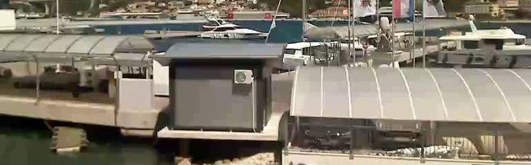 Livecam Dubrovnik - coast of Lapad  - port of Gruž view