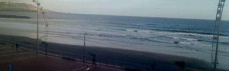 Livecam La Cicer Beach surf - Beach de Las Canteras