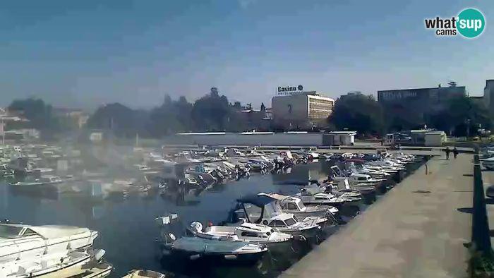 HD Live Webcam Poreč - marina