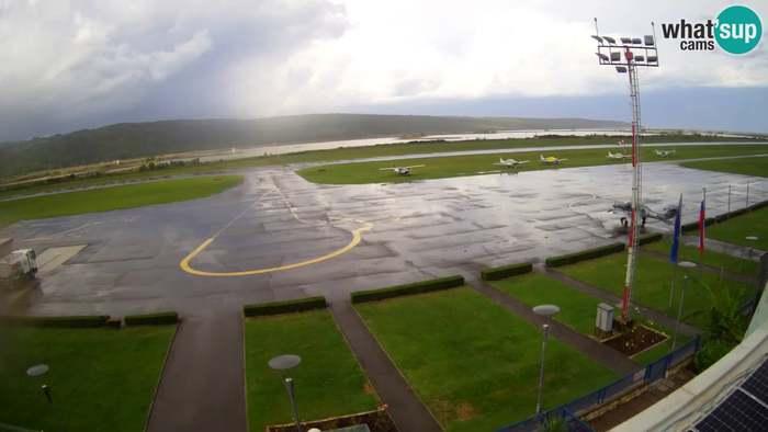 HD Live Webcam Portorož Airport - LJPZ - Sečovlje