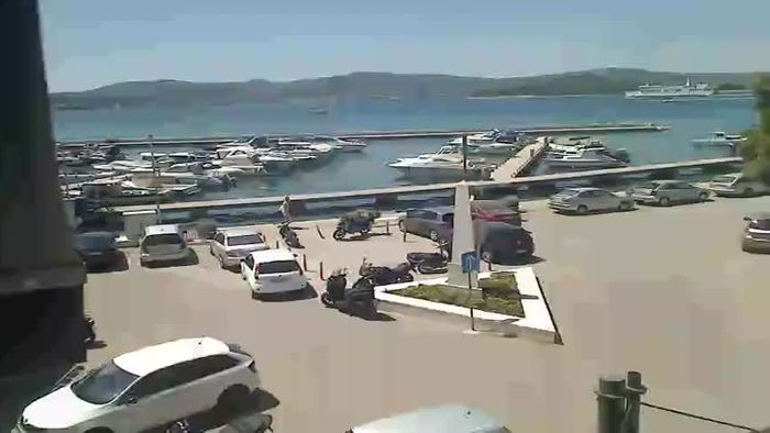 HD Live Webcam Biograd na Moru - King Tomislav square