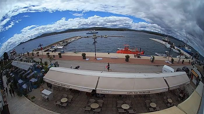 HD Live Webcam Biograd na Moru -  Coast King Petar Krešimir IV