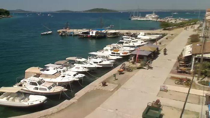 HD Live Webcam Island of Zlarin