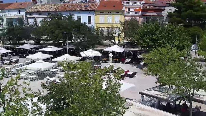 HD Live Webcam Crikvenica - Stjepan Radić square