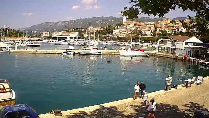 HD Live Webcam Novi Vinodolski - Marina - Yachthafen