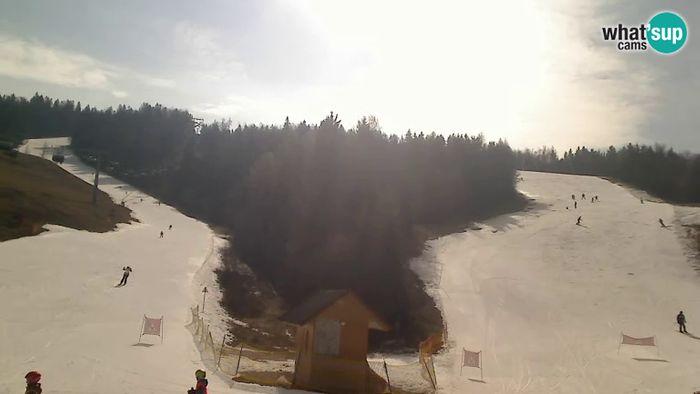 HD Live Webcam Ski Cerkno - Brdo