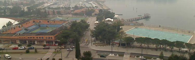 Livecam Portorož Marina and Gulf of Piran