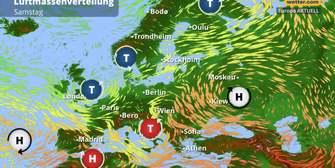 Großwetterlage: Tiefdruckautobahn wird eröffnet