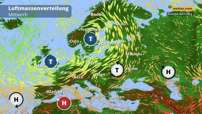 Großwetterlage: Achtung! Gewittertief formiert sich!