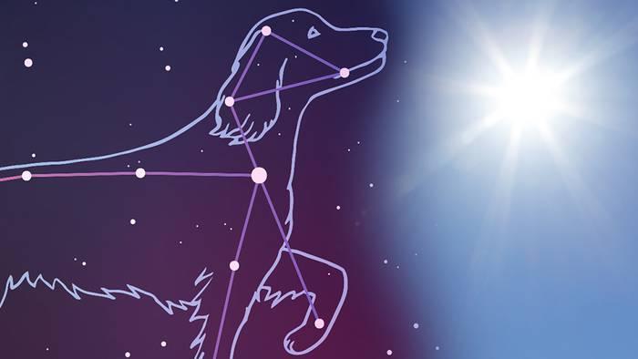 Hundstage - Oft die heißesten Tage des Jahres