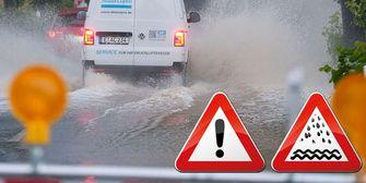 Unwetterwarnung! So entwickelt sich die Regen- und Hochwasserlage!