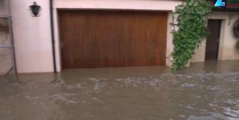 Abgesoffen: Bayerisches Dorf komplett überflutet