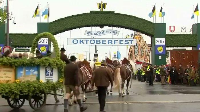 O'zapft is! Oktoberfest 2017 in München eröffnet