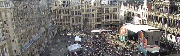 Livecam Brüssel - Grand Place