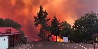 Riesiges Feuer! Gran Canaria brennt