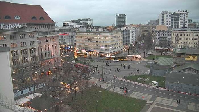 HD Live Webcam Berlin - KaDeWe und Wittenbergplatz