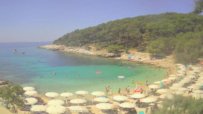 HD Live Webcam Webcam Mali Lošinj - Sunčana uvala beach - Veli Žal