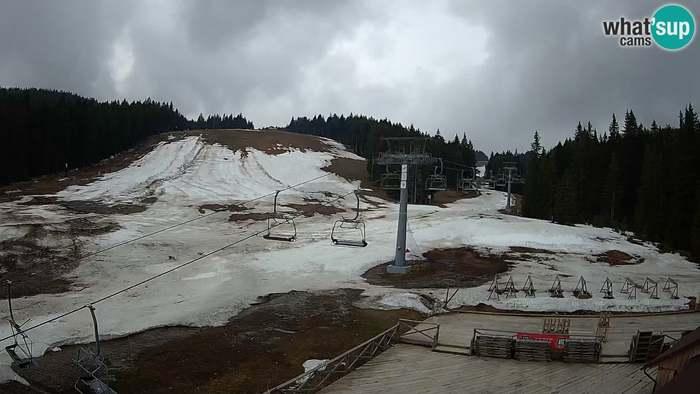 HD Live Webcam Rogla ski resort - MšinŽaga - Funpark