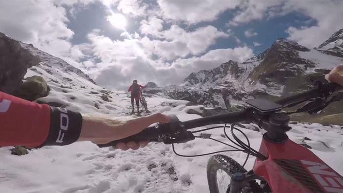 E-Bike-Rekord: In 27 Stunden durch die Alpen
