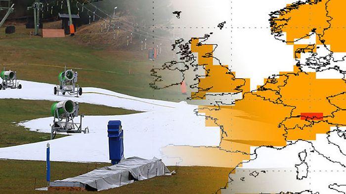 NOAA-Langfristprognose: Wann wird es mal wieder richtig Winter?